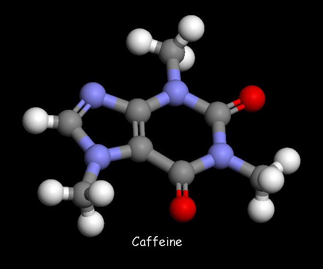 Vinegar Molecule Of the caffeine molecule?